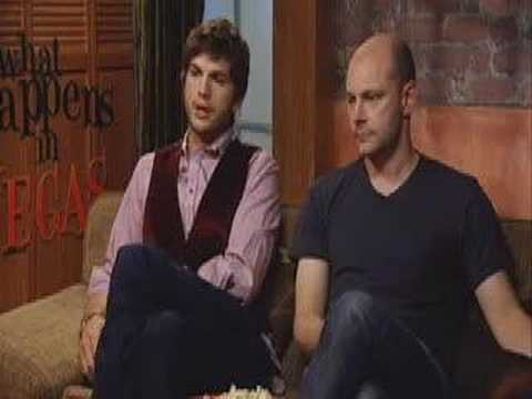 Ashton Kutcher & Rob Corddry for 'What Happens in Vegas'