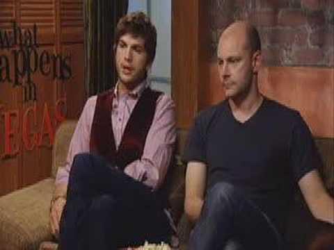 Ashton Kutcher & Rob Corddry for 'What Happens in Vegas'