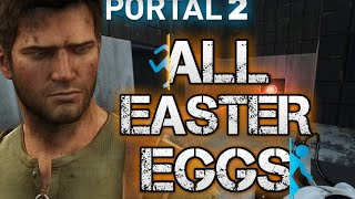 Portal 2 | All Easter Eggs | Secrets | Achievements | Last Level
