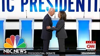 Watch Night 2 Of The Second Democratic Debate In Under 3 minutes | NBC News