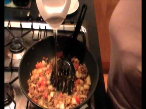 Beef Curry Fried Rice &#8211; Chinese Recipes Fried Rice Video Series 1