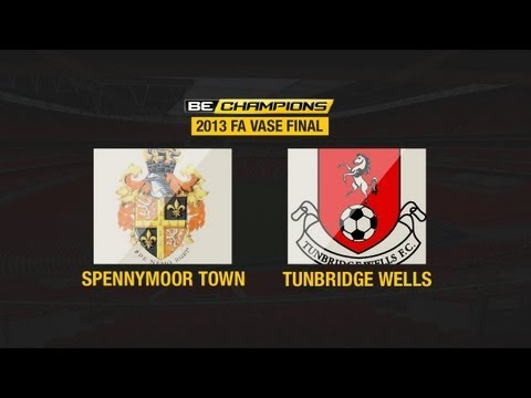 The FA Vase Final 2013 - Spennymoor Town V Tunbridge Wells