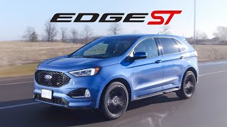 2019 Ford Edge ST Review - Not Worthy of The ST Badge