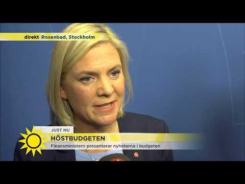 """Finansministern: """"Mest nöjd över att ta bort den orättvisa skatteklyftan mellan pensionärer och"""