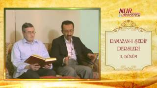 Prof. Dr. Alaaddin Başar - Ramazan-ı Şerif 3. Bölüm 4 - 6 Nükteler
