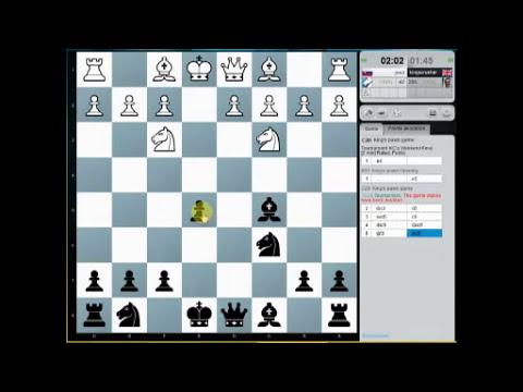 Chesscube #64: Blitz Chess Tournament : Kingscrusher's Weekend Final on Chesscube (Chessworld.net)