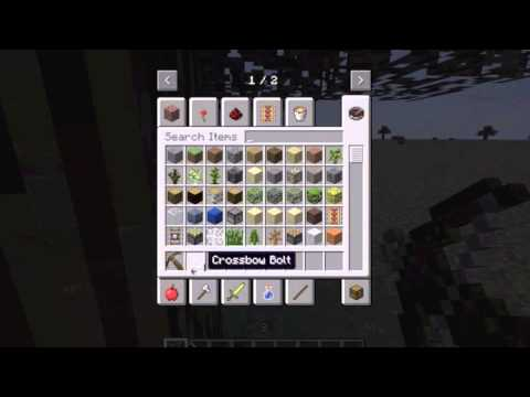 Minecraft With Terminator! Kovacic's Mod Pack Part 1 Weapons!