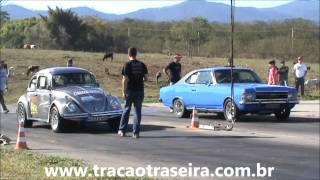 Fusca X Opala  - Categoria TT TOP - Arrancada de Rua - 3ª etapa - Taubaté (SP)