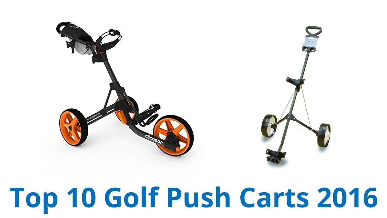 10 Best Golf Push Carts 2016