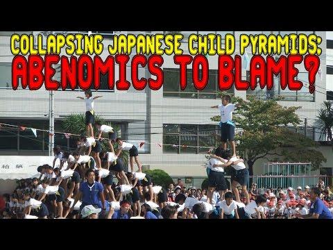 Collapsing Japanese Child Pyramids: Abenomics To Blame?