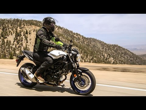 Suzuki SV650 First Ride Review At RevZilla.com