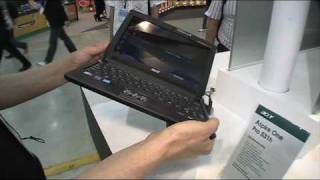 Acer Aspire One Pro 531h at Computex 2009