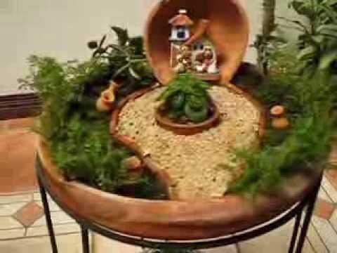Costa Rica Jardines Miniatura Small Gardens Youtube