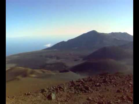 Maui, Haleakala Crater Video