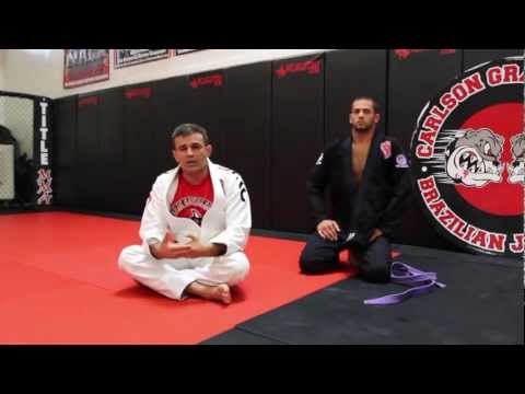 Jiu Jitsu Techniques - Escape From Mount To Deep Half Guard Image 1