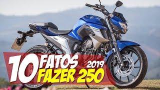 10 FATOS: NOVA FAZER 250 2019 NO BRASIL - 10F13 Motorede