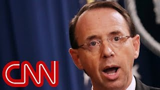 NYT: Rod Rosenstein discussed secretly taping Trump