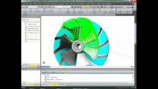 Impeller machining using Edgecam