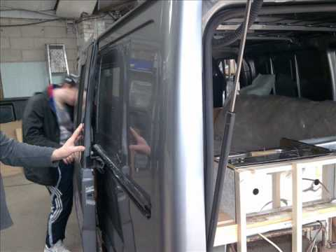 ford transit home made camper conversion