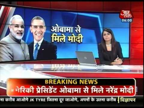 PM Modi meets US President Barack Obama