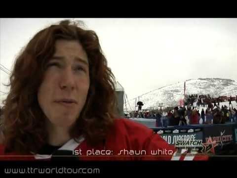 Shaun White & Torah Bright win the World Superpipe Championships