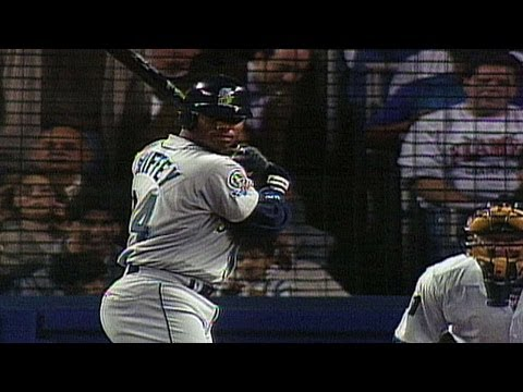 1995 ALDS Gm1: Ken Griffey Jr. blasts two home runs