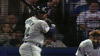 1995 ALDS Gm1: Ken Griffey Jr. blasts two home runs