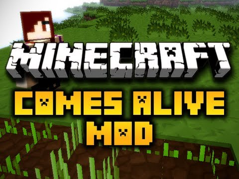 Minecraft Comes Alive Mod - MAKE YOUR KIDS DO CHORES! (HD)