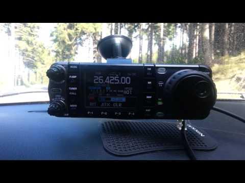 Icom IC 7000 - mobil equipment
