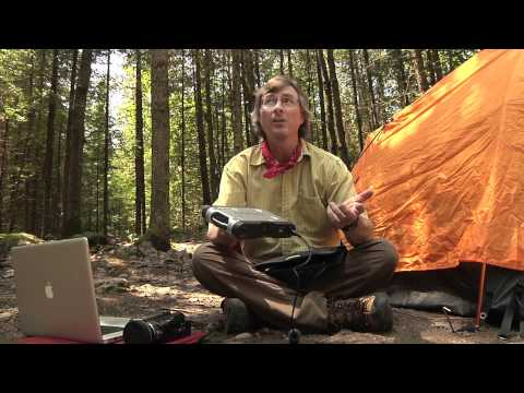 Solar Powered Camping - the Happy Camper