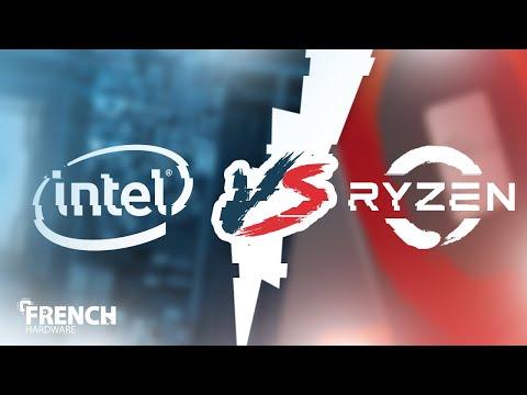INTEL VS AMD RYZEN ! - FrenchHardware [FR]
