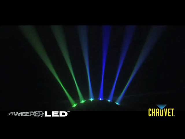Chauvet Sweeper tri color LED lighting effect