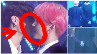 JIKOOK ALMOST KISSED💋 on TMA–190424