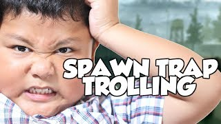 "SALTY RACIST KID GETS VERY ANGRY FROM SPAWNTRAPPING! ""COD TROLLING"""