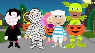 Halloween Songs Halloween Night 2: Trick or Treat - Halloween song & animation for   #Halloween 111