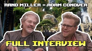 """Adam Conover and Rand Miller Talk Game Design and """"Obduction"""" - FULL INTERVIEW"""