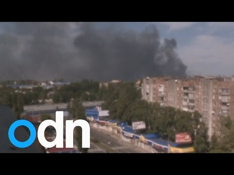 Ukraine crisis: Fighting in Donetsk despite ceasefire