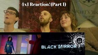 "Black Mirror 4x1 ""USS Callister"" Group Reaction! (Part 1)"