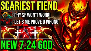 EPIC Pro SF 2x Daedalus + Desolator 2 Mind Blowing Right Click Damage | New 7.24 GOD Dota 2