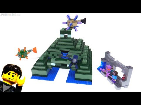 LEGO Minecraft The Ocean Monument review! 21136