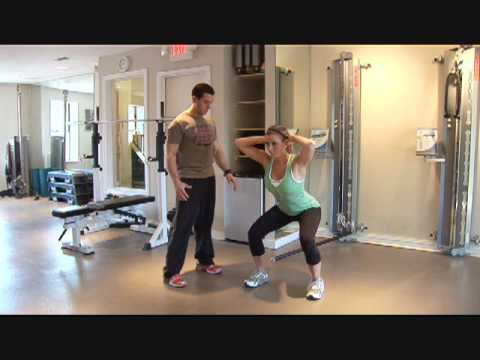 Bodyweight Workout Video - No Exercise Equipment Routine Image 1