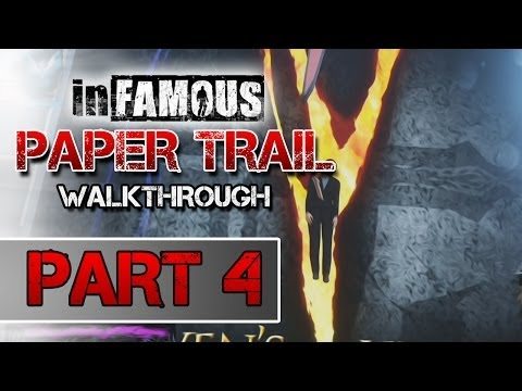 inFAMOUS: Paper Trail Part 2 - Second Son Mission Walkthrough: PART 4
