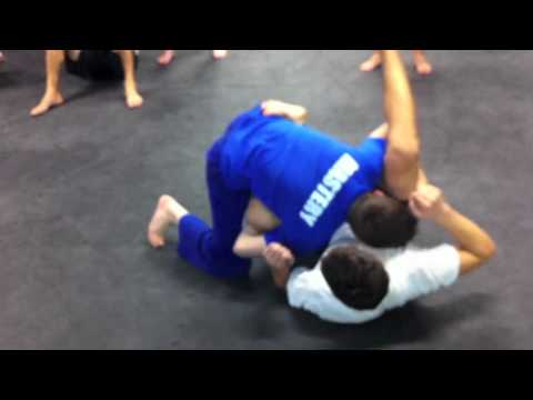 Over-Under Grappling Guard Pass Image 1