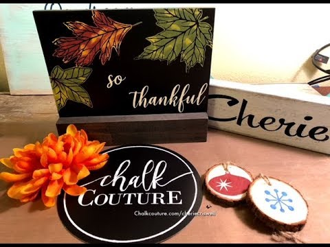 Together so blessed and thankful - Cherie Criswell Independent Designer for Chalk Couture