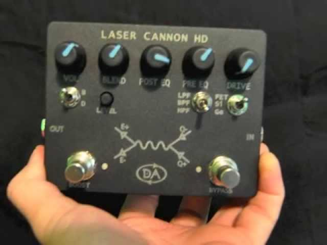 Getting the Geddy Lee Tone with Daring Audio Laser Cannon HD