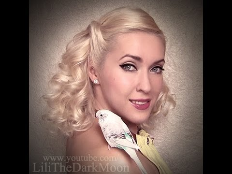 Cute hairstyle with playful heatless curls inspired by Gwen Stefani