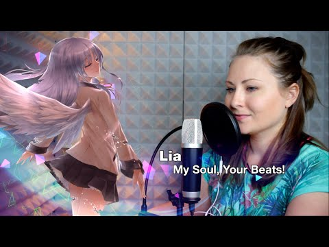 Angel Beats! / My Soul, Your Beats! (Nika Lenina Russian Version)