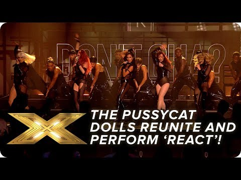 Download The Pussycat Dolls REUNITE and perform new song 'React'! | Final | X Factor: Celebrity Mp4 baru