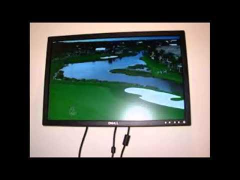 Как сделать монитор компьютера телевизор