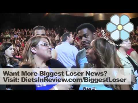 Aqua Team at Biggest Loser 13 Finale - Daphne and Adrian